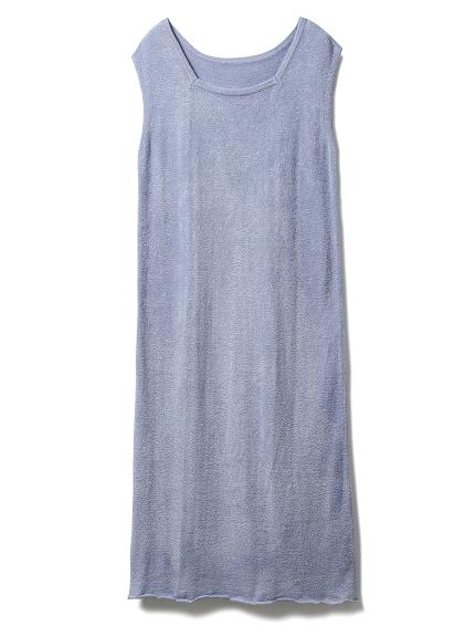 'スムーズィー'スカラップドレス(BLU-F)