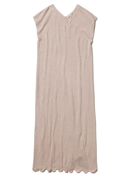 'リサイクルモコ'スカラップドレス