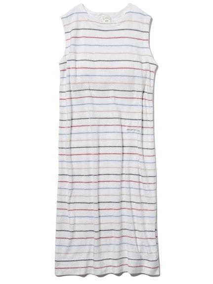 'スムーズィー'カラフルピンボーダーカップインドレス