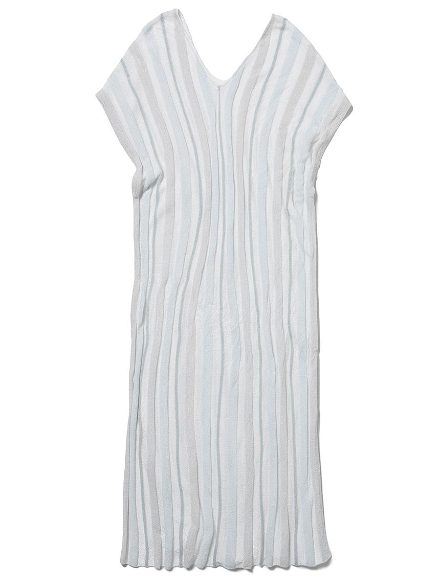 'スムーズィーライト'COOLストライプドレス(MNT-F)