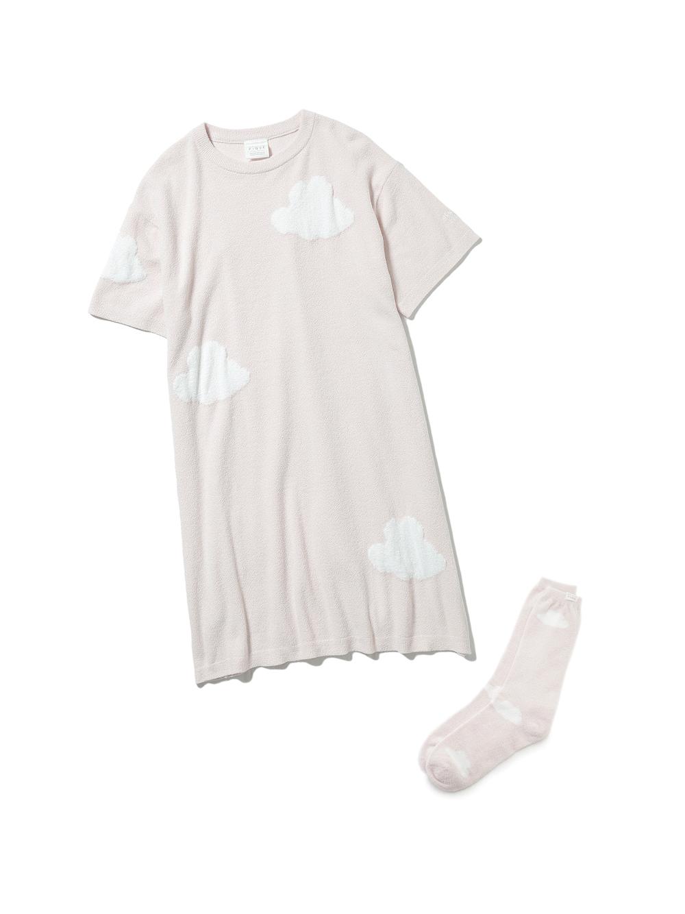 【ラッピング】くもジャガードドレス&ソックスSET(PNK-F)