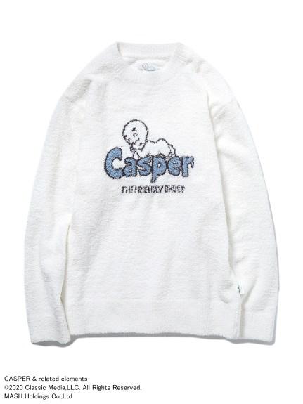 【CASPER】'ベビモコ'ジャガードプルオーバー
