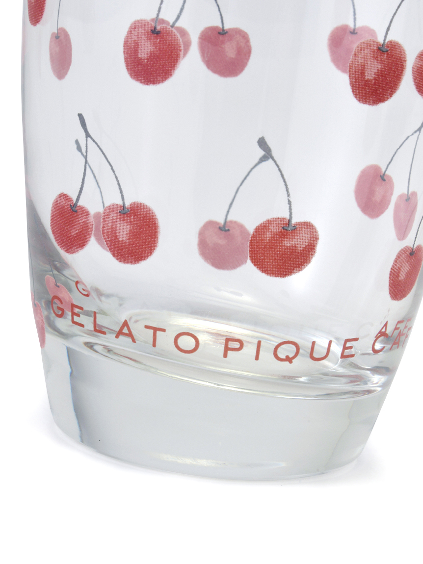 【GELATO PIQUE CAFE】チェリーモチーフグラス | GWGG212801