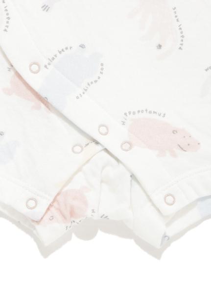 【旭山動物園】ペイントアニマルモチーフ baby ロンパース | PBCO202472