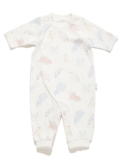【旭山動物園】新生児ペイントアニマル2wayオール | PBCO202473