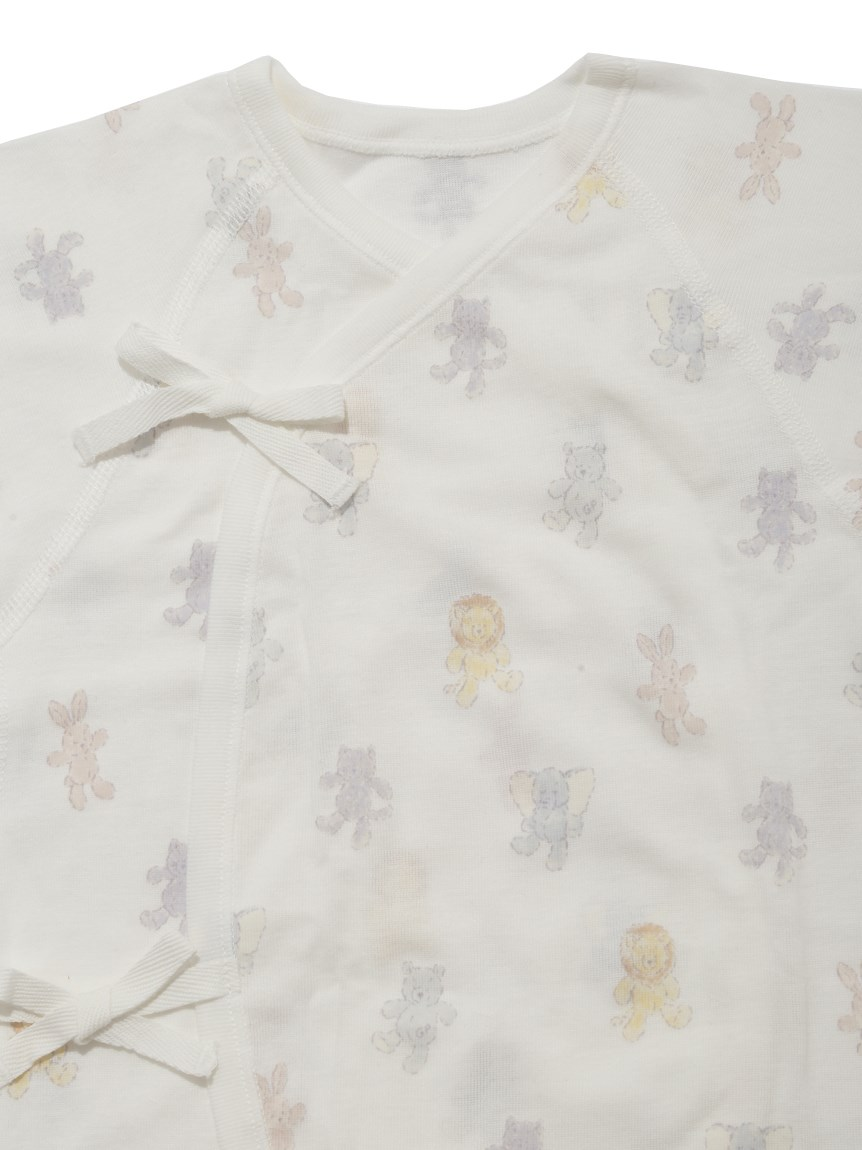 【新生児】ぬいぐるみモチーフコンビ肌着 | PBCO209364