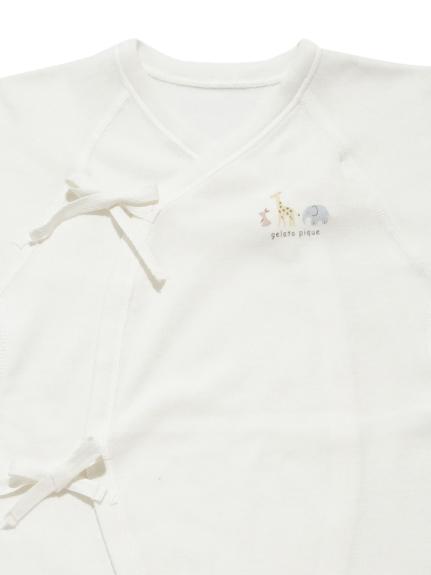 【新生児】アニマルモチーフコンビ肌着2枚セット | PBCO209481