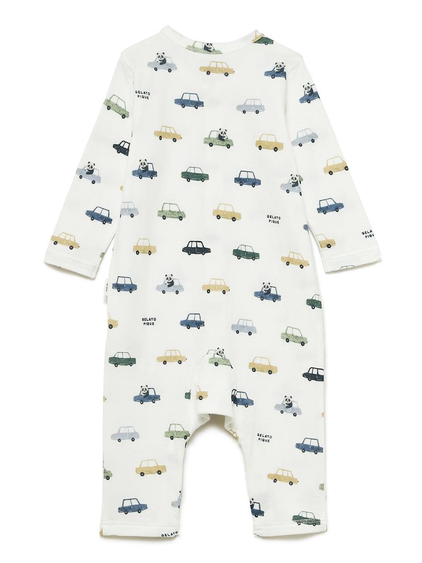 【BABY】くるまモチーフ baby ロンパース | PBCO211453