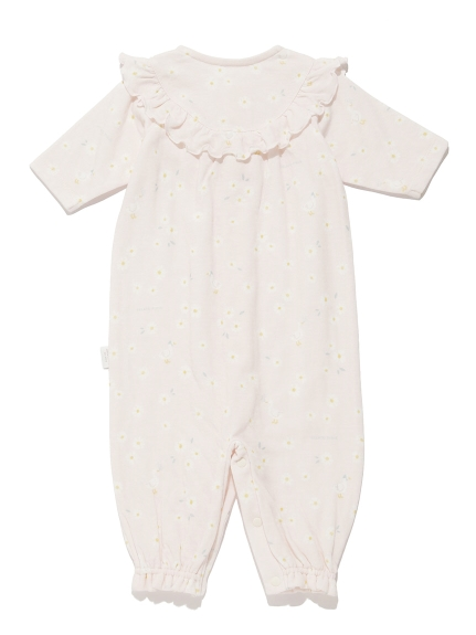【BABY】デイジーモチーフ新生児2wayオール | PBCO211458