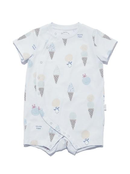 【BABY】アイスクリームアニマルモチーフ baby ロンパース   PBCO212461