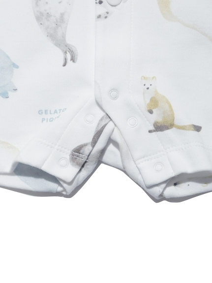 【BABY】【旭山動物園】アニマルモチーフ baby ロンパース   PBCO212473