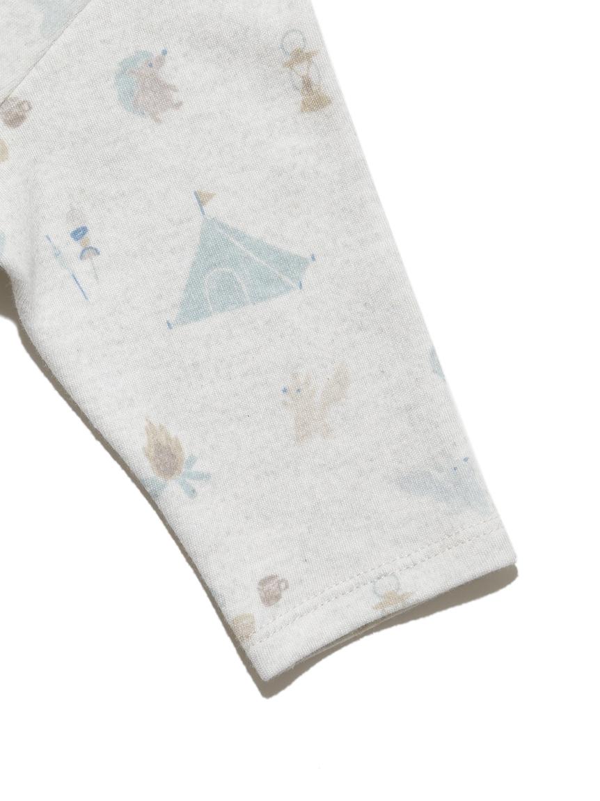 【BABY】 アニマルキャンプモチーフ新生児2wayオール | PBCO214455