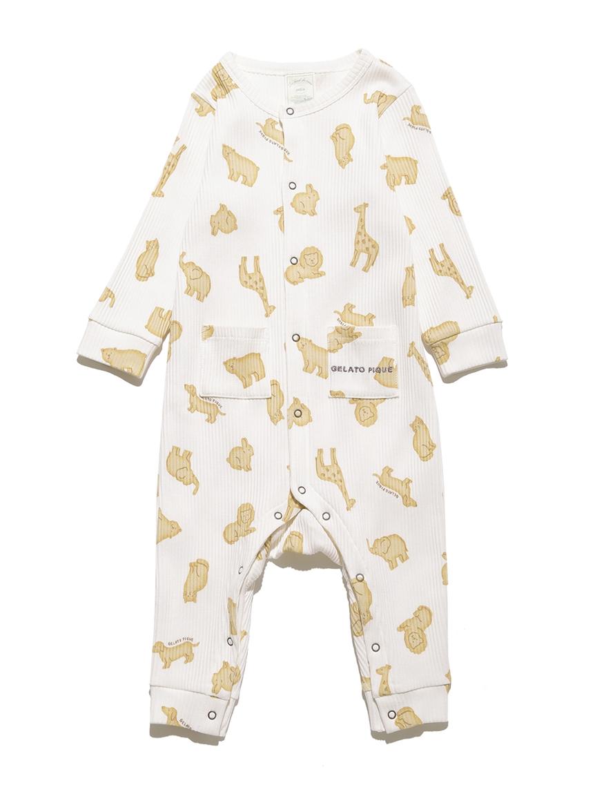 【BABY】 クッキーアニマルモチーフ baby ロンパース | PBCO214459
