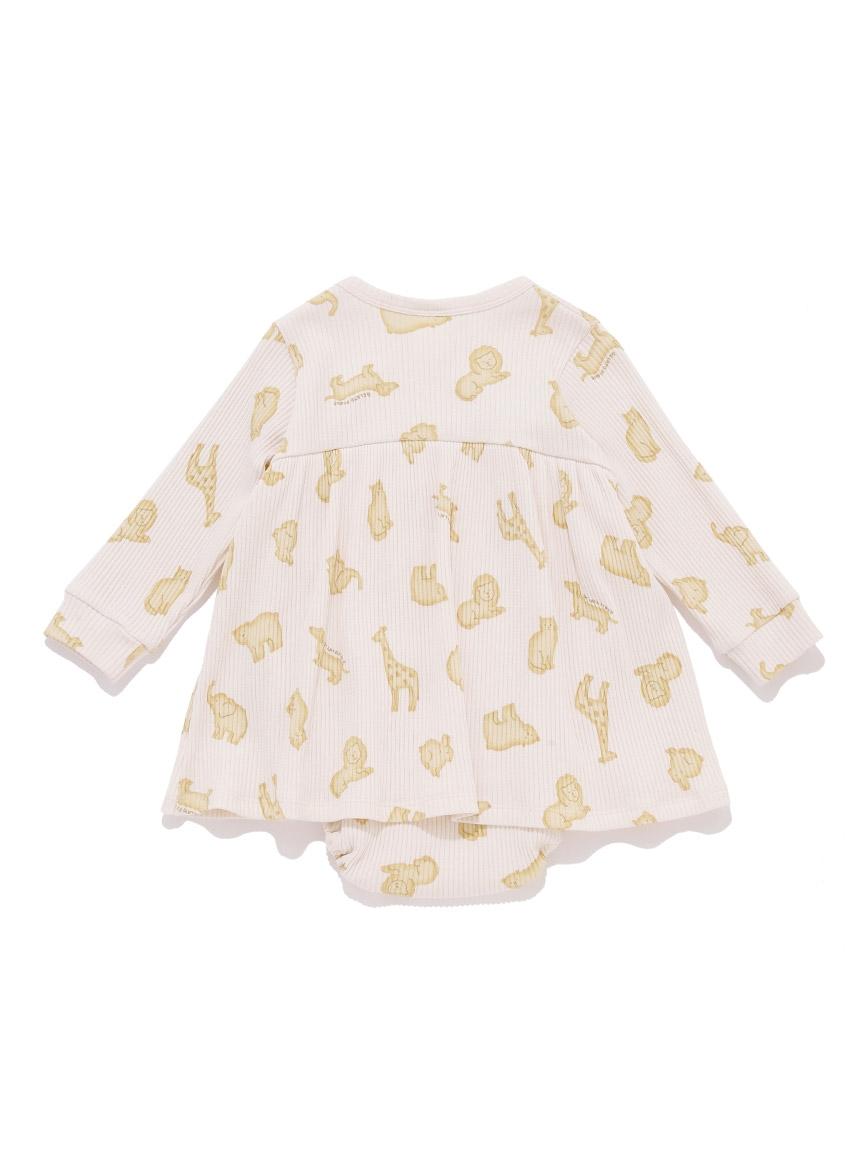 【BABY】 クッキーアニマルモチーフ baby ショートロンパース   PBCO214460