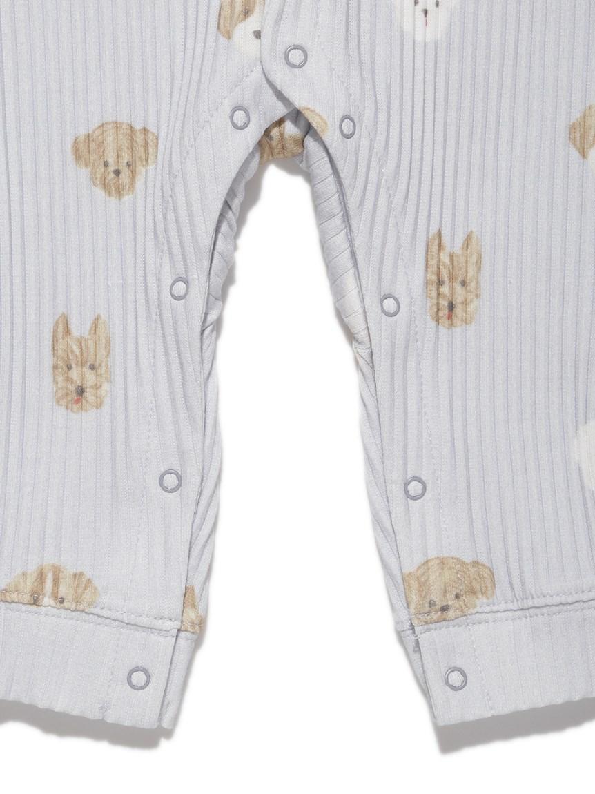 【BABY】メレンゲドッグ柄 baby ロンパース   PBCO215460