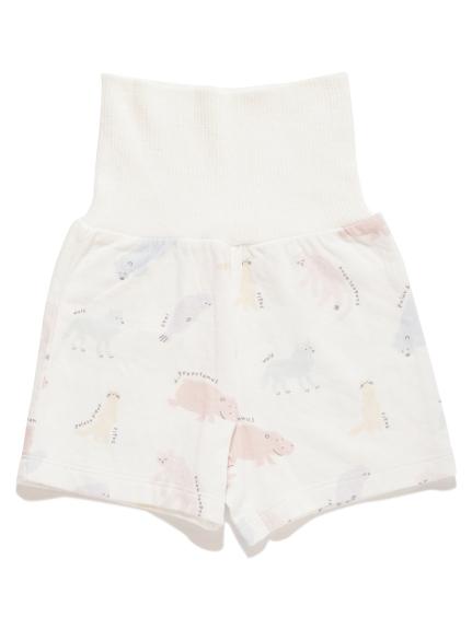 【旭山動物園】ペイントアニマル baby ショートパンツ | PBCP202471