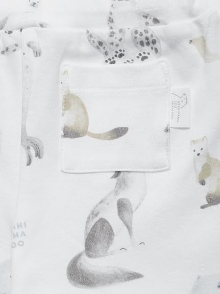 【BABY】【旭山動物園】アニマルモチーフ baby ハーフパンツ | PBCP212472