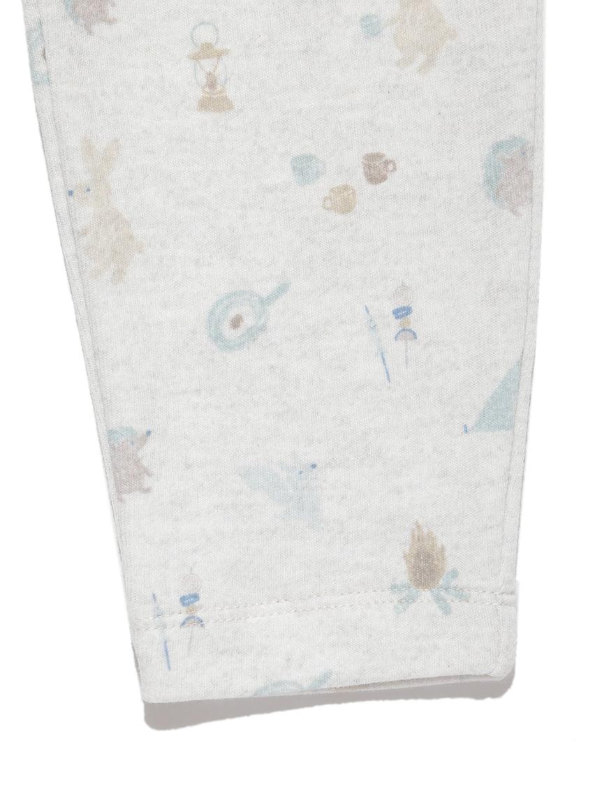【BABY】 アニマルキャンプモチーフ baby ロングパンツ   PBCP214453