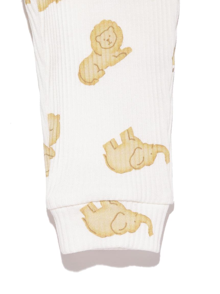 【BABY】 クッキーアニマルモチーフ baby ロングパンツ | PBCP214458