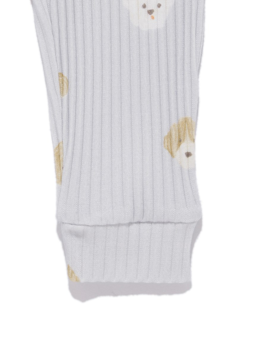 【BABY】メレンゲドッグ柄 baby ロングパンツ   PBCP215434