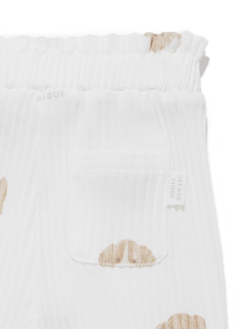 【BABY】メレンゲドッグ柄 baby フリルロングパンツ | PBCP215435