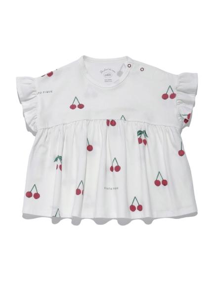 【BABY】チェリーモチーフ baby プルオーバー | PBCT212454