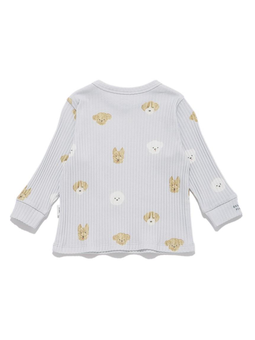 【BABY】メレンゲドッグ柄 baby プルオーバー   PBCT215432