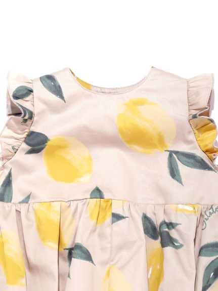 【BABY】フルーツアロハモチーフ baby フリルロンパース | PBFO212475