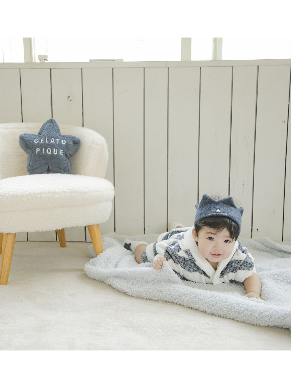 【BABY】'スムーズィー' baby 王冠ヘアバンド | PBGA212712