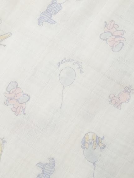 【BABY】【新生児】アニマルバルーンガーゼスワドル | PBGG182726