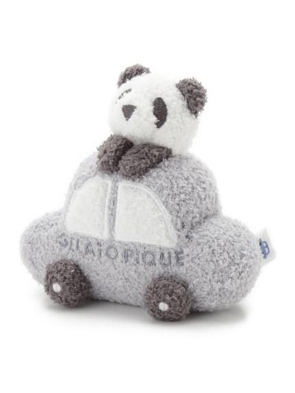 【BABY】'ベビモコ'パンダ&くるまモチーフ baby ラトル   PBGG211707