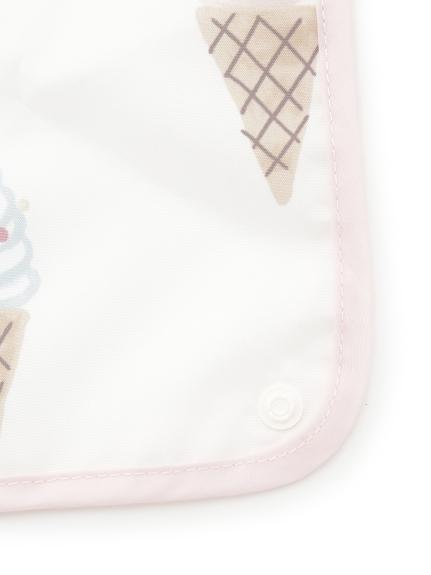 【BABY】アイスクリームアニマルモチーフ baby お食事スタイ   PBGG212696