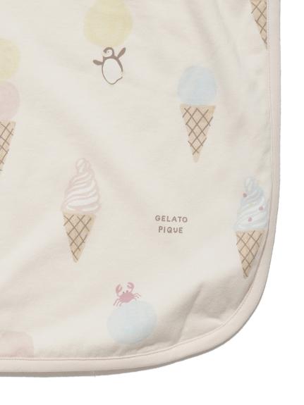 【BABY】アイスクリームアニマルモチーフ baby ブランケット   PBGG212698
