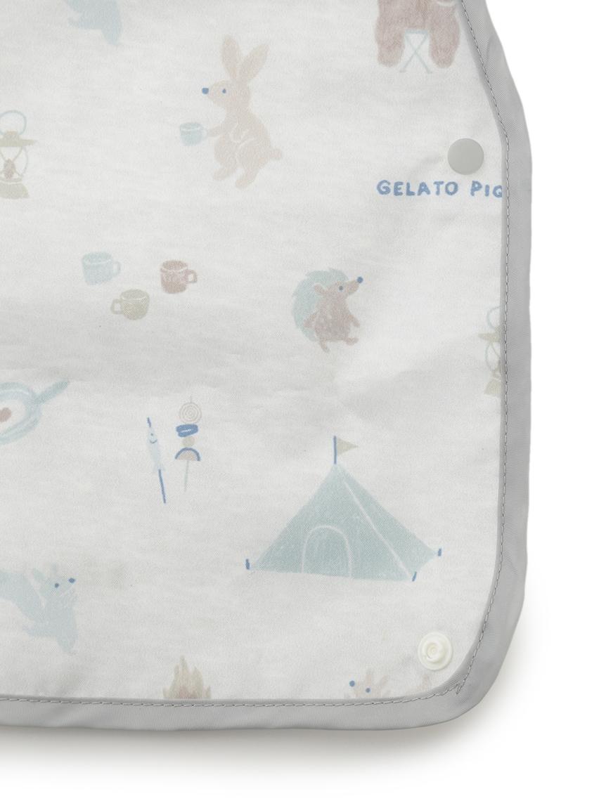 【BABY】 アニマルキャンプモチーフ baby お食事スタイ | PBGG214761