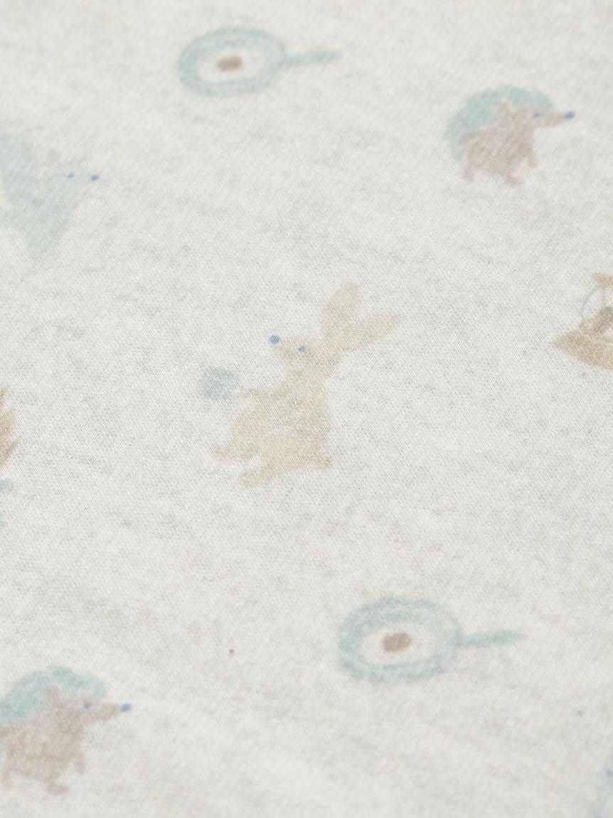 【BABY】 アニマルキャンプモチーフ baby ブランケット | PBGG214763