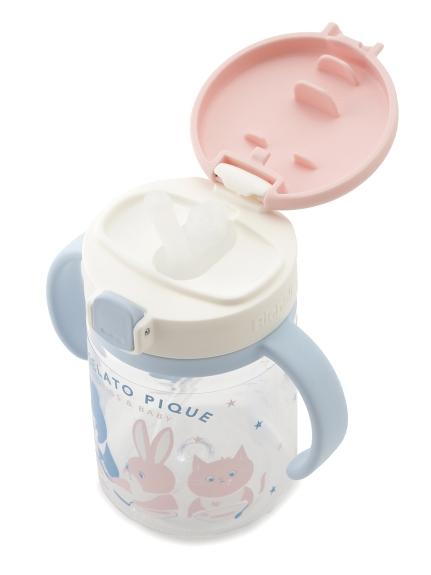【ラッピング】Babyストローマグ&アニマル柄お食事スタイSET | PBGG219058