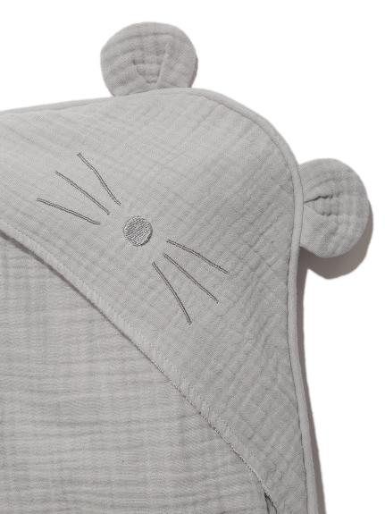 【ラッピング】Babyアニマルガーゼブランケット&スタイ&ぬいぐるみSET | PBGG219080