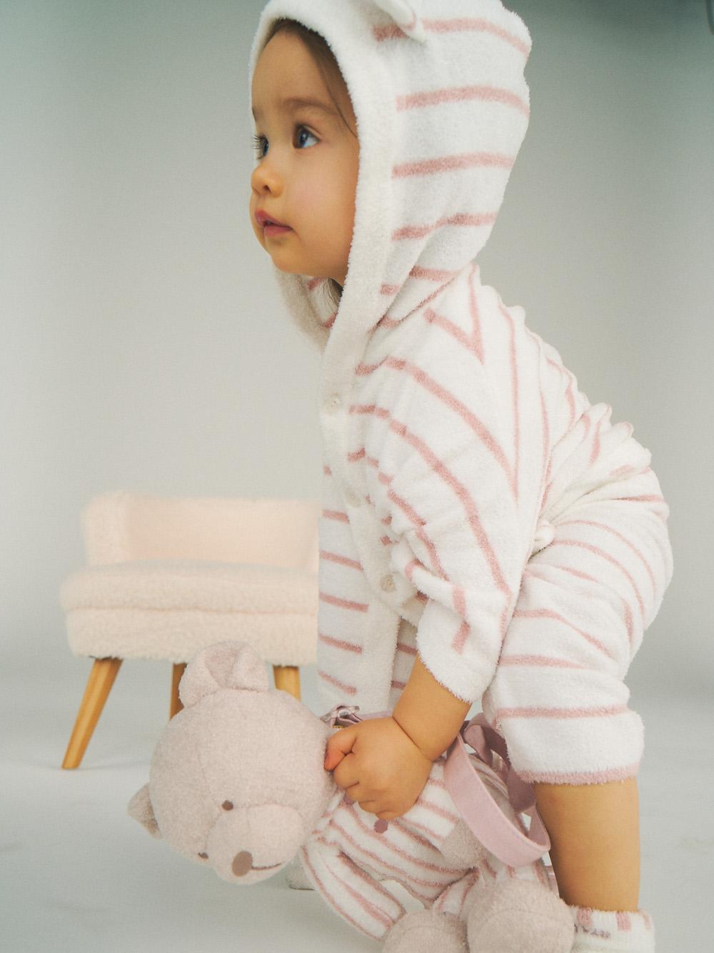 【ラッピング】Babyスムーズィボーダーポンチョ&ストローマグSET | PBGG219094