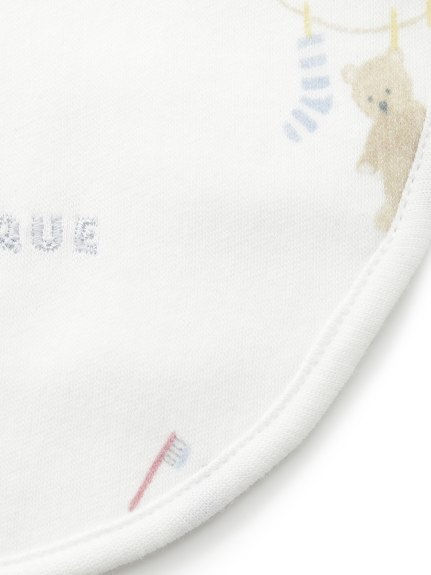【ラッピング】Babyモーニングベア柄ブランケット&スタイ&くまソックスSET | PBGG219102