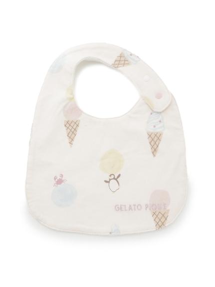 【ラッピング】【Baby】アイスクリームアニマル柄スタイ&ペンギンマルチクリップSET | PBGG219247