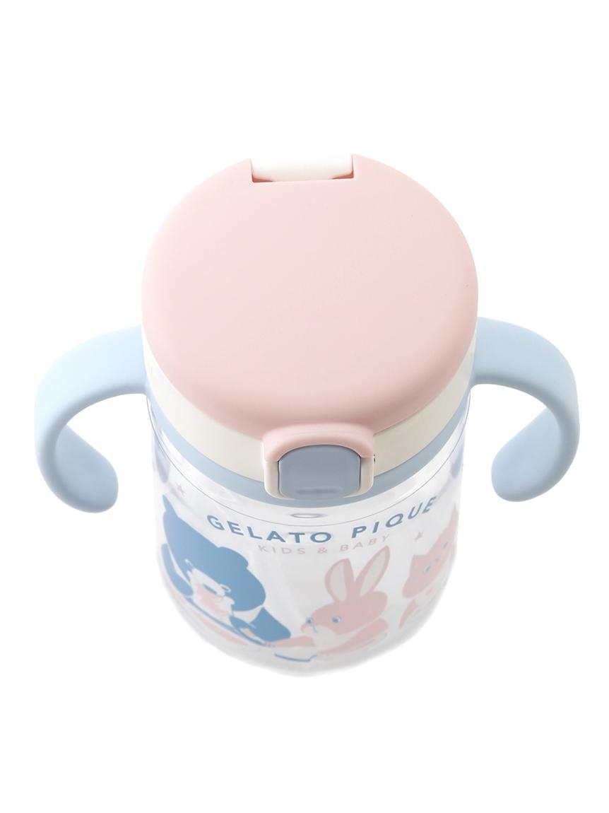 【ラッピング】【BABY】アニマルキャンプモチーフ baby お食事スタイ&baby ストローマグ | PBGG219327