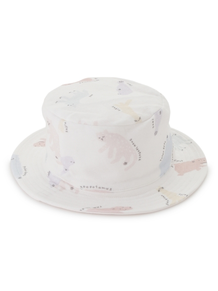 【旭山動物園】ペイントアニマルモチーフ baby ハット | PBGH202760