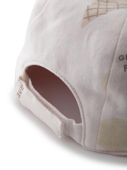 【BABY】アイスクリームアニマルモチーフ baby キャップ   PBGH212694