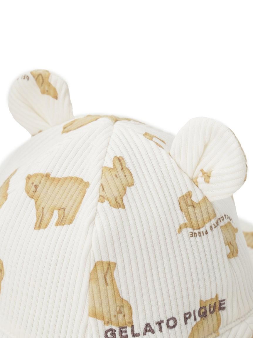 【BABY】 クッキーアニマルモチーフ baby キャップ | PBGH214766