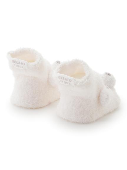 【旭山動物園】'スムーズィー'クマ baby ソックス | PBGS202743