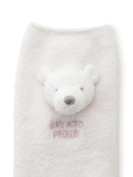 【旭山動物園】'スムーズィー'クマ baby レッグウォーマー | PBGS202744