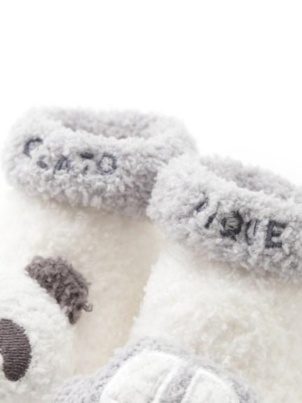【BABY】'ベビモコ'パンダ&くるまモチーフ baby ソックス | PBGS211704