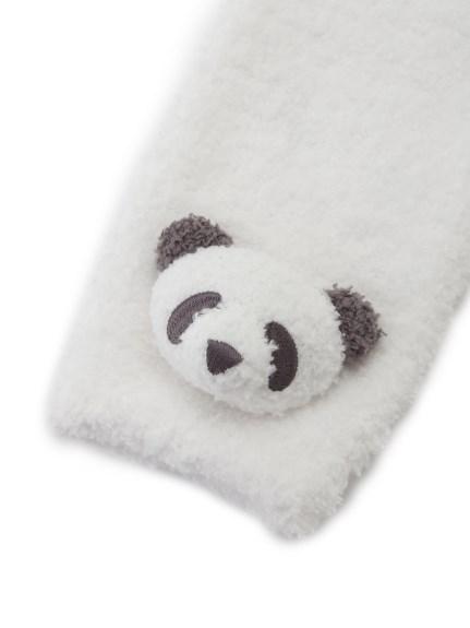 【BABY】'ベビモコ'パンダ&くるまモチーフ baby レッグウォーマー | PBGS211705
