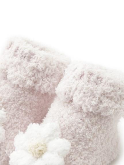 【BABY】'ベビモコ'デイジーモチーフ baby ソックス | PBGS211711