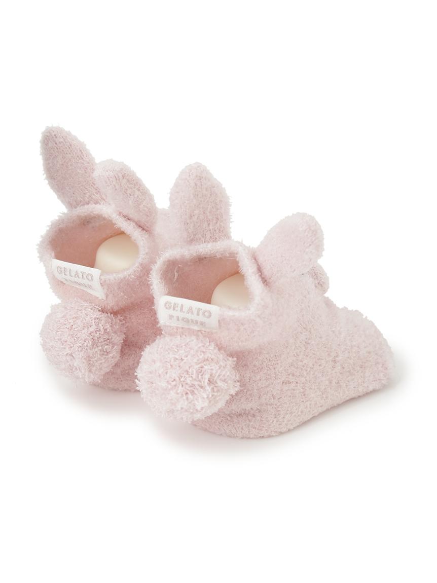 【BABY】 'リサイクル'スムーズィー'ウサギ baby ソックス   PBGS214714